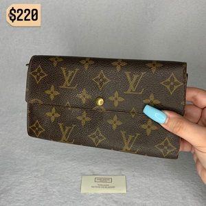 ✨✨✨✨SOLD✨✨✨✨ Louis Vuitton Monogram Long Wallet